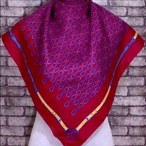 Gucci Vintage Silk Scarf